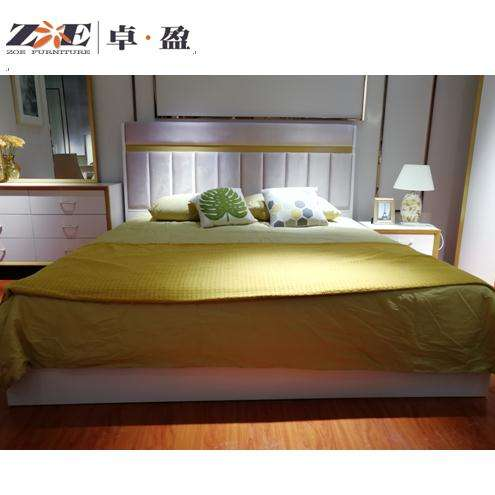 space saving home furniture online selling king /double size wooden modern bed for bed furniture