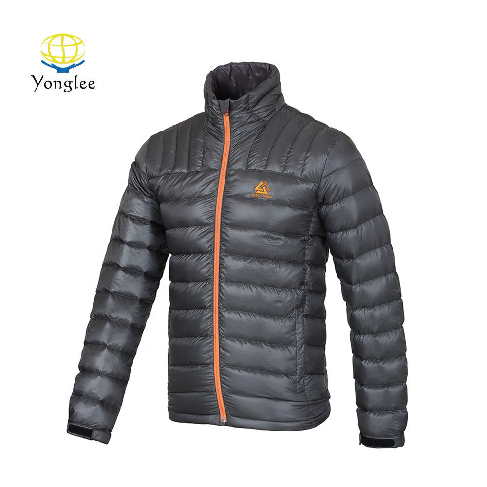 Factory Supply Outdoor Active Wear Waterproof Lightweight Men Down Jacket