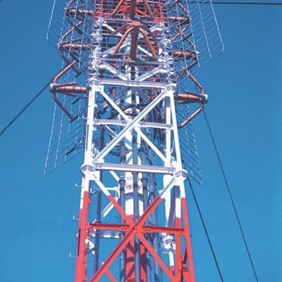 5G signal emission communication tower