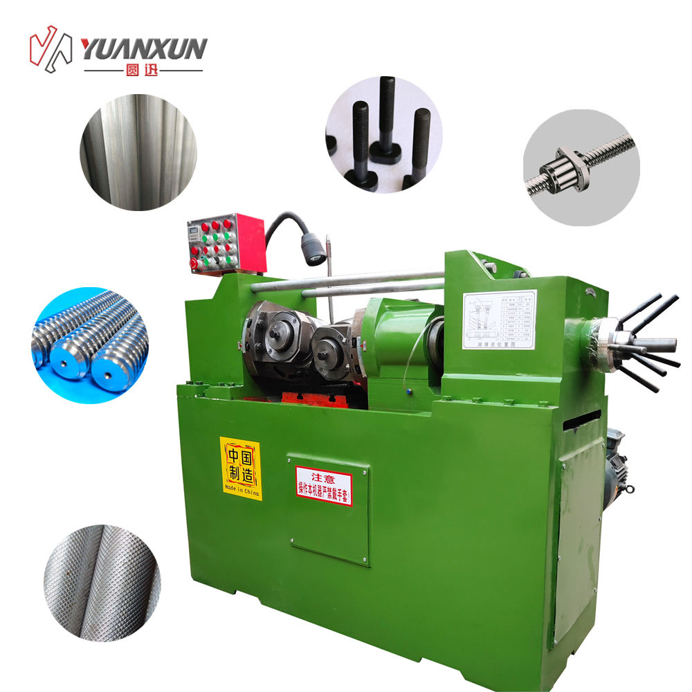 bolt making machine With high quality motor Hydraulic pipe threading rolling screw making machine stainless steel