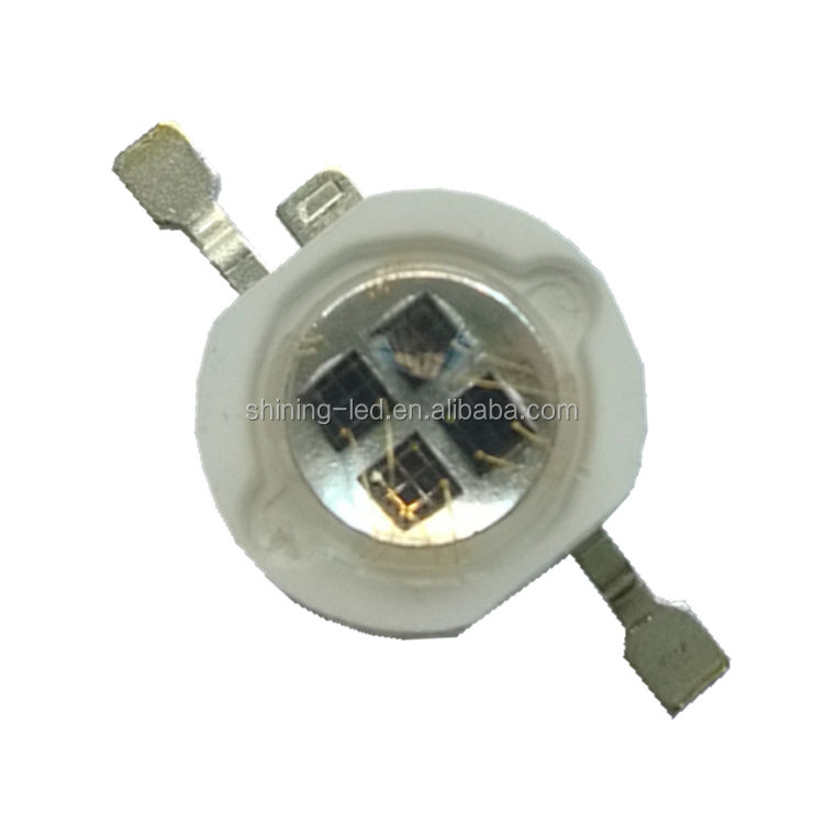 1W 2W 3W 5W Infrared Emitting Diode 4 chips 940nm High Power IR LED