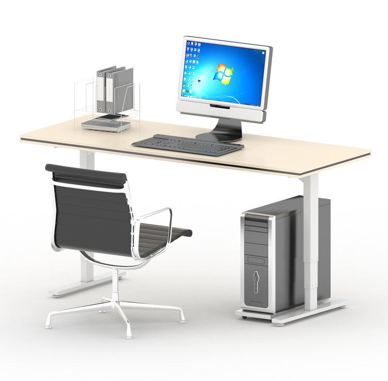 Ucuz fiyat ticari mobilya ofis yüksekliği ayarlanabilir ayakta motorlu masa ayakları Staand <span class=keywords><strong>bürosu</strong></span>