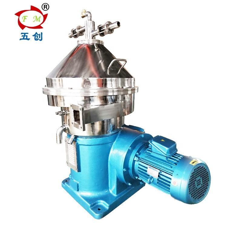 RPDH three phase milk centrifugal separator for milk clarify and degrease