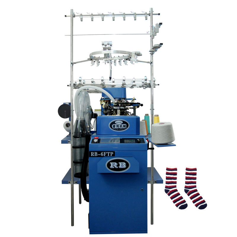 hosiery sewing RB-6FTP sock knitting machine for making socks