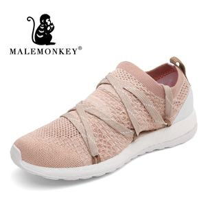 Hot Sale Flat Sneakers Ladies Fashion Pink Sports Shoes Women Casual