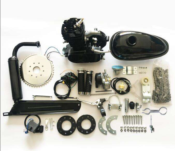 80cc Engine Kits 2 Stroke Moped Gasoline Engine Kits for Gas Motorized Bicycle