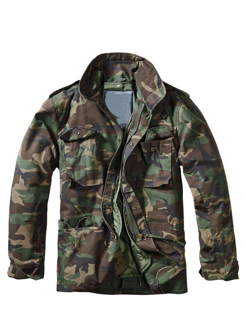 Stylish hard wearing work jacket police or army tactical winter jacket warm coat military safety m65 field jacket