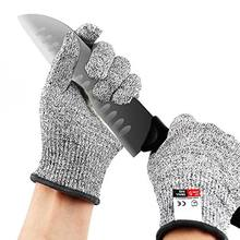 Food Grade Kitchen Knife Blade Proof Anti-cut Gloves Safety Protection Cut Resistant Gloves Level 5 Anti Cut Gloves