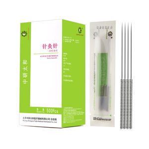 Zhongyan Taihe 500pcs Medical Painless Disposable Acupuncture Needle Fire Tai Chi Needle Treatment