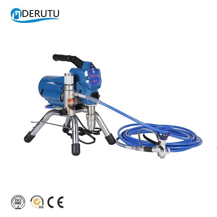 DERUTU 395 electric spraying pump machine airless paint sprayer for graco wagner titan