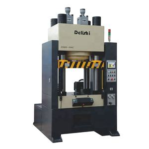 Single Action Four Column Hydraulic Press Machine Ceramic Powder Pressing Forming Machine 100 ton