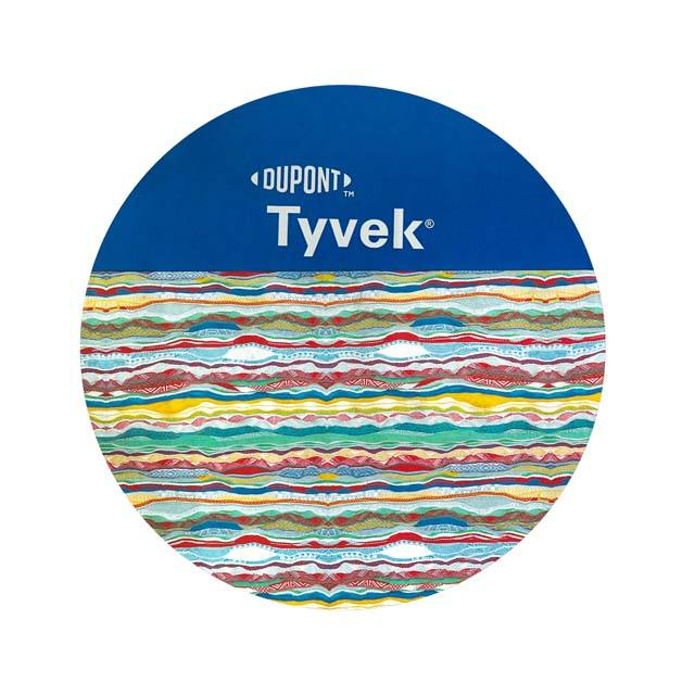 DuPont tyvek paper 1056D orginal tyvek paper or with color dyed /dyed color with fabric coated /PU coated