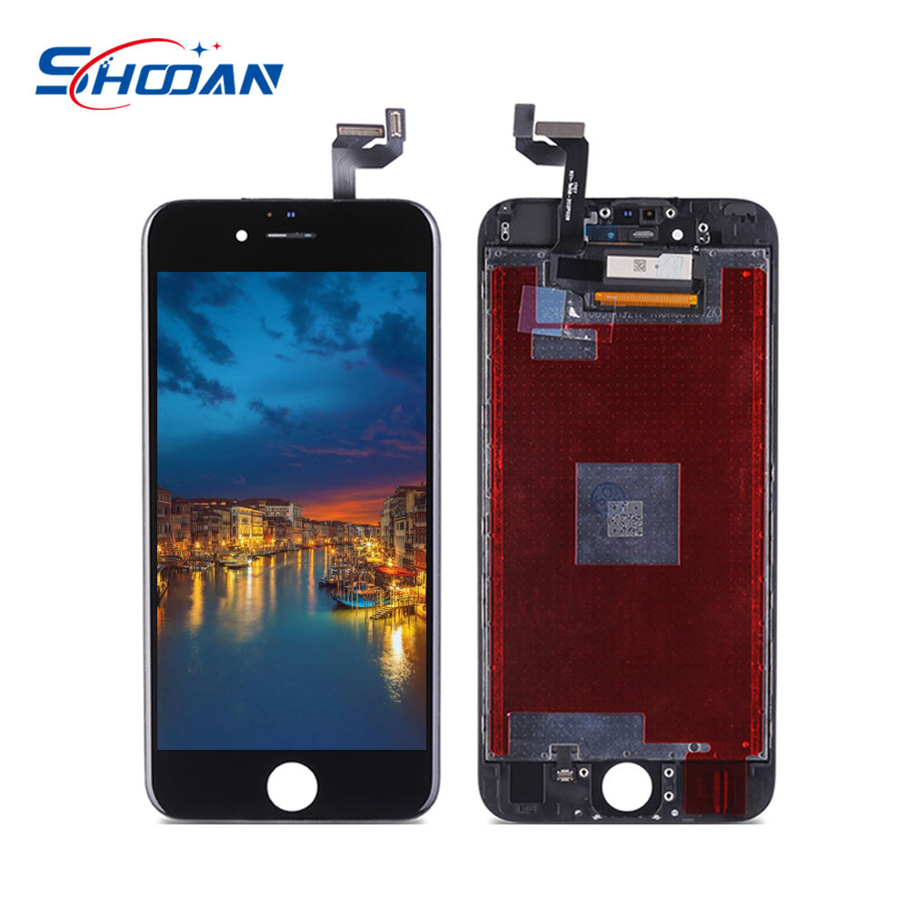 Lcd screen display oem cheap tester For iPhone 6s plus white phone repair touch id screens 3d