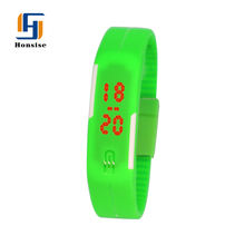 Watch led Gift Set Fancy Bracelet Watch Silicone Watch Bracelet Set