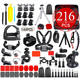 Aichuanglin Gopro Accessories Set Suitable For Go pro Hero 8 7 6 5 5s 4 4s Xiaomiyi 2 SJ4000 SJ5000 Action Camera
