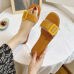 Attractive Design Light Weight Outdoor Flat Ladies h shape slipper for women