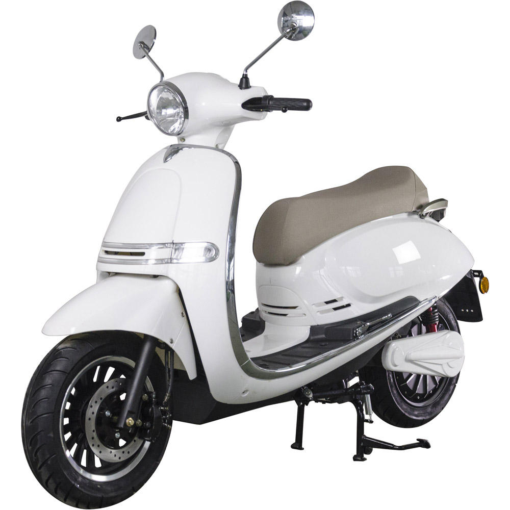 2020 New Electric Vespa Motorcycle with EEC L3e-A 75km max speed EEC Approved Electric Scooter 3000W