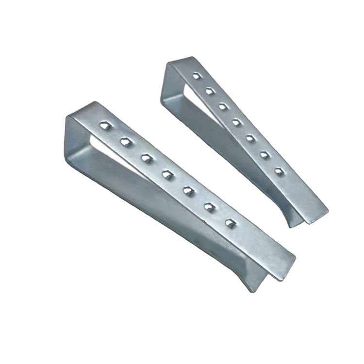Custom Made Precision Stamping Galvanized U-shaped Steel Mounting Bracket