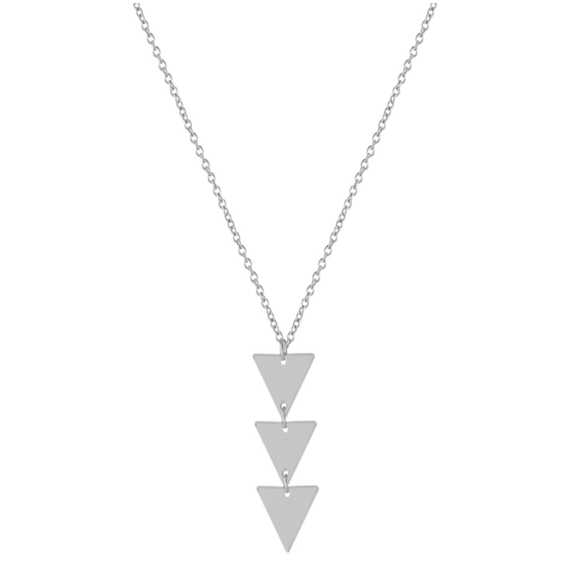 Adorn With Three Triangular Pendants For Women
