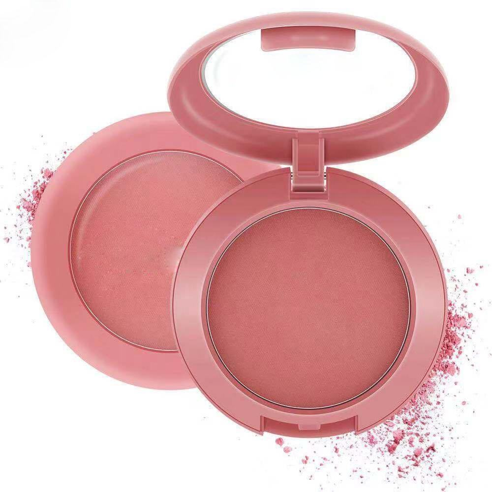 Cheek Blusher Compact Powder Soft And Delicate Makeup Blush Private Label