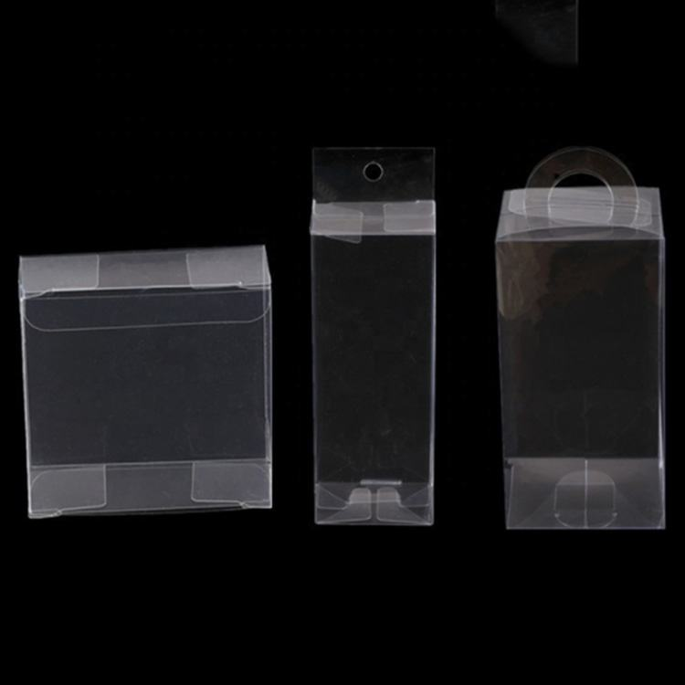 Wholesale souvenir gift foldable transparent plastic box