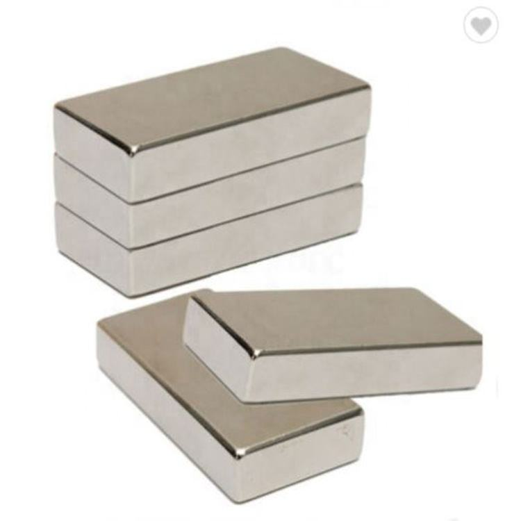 Super strong square 20*10*5mm /20*20*5mm /30*25*5mm block magnet Nickel-coated rare earth N52 ndfeb neodymium magnet