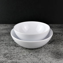 Retail Restaurant Best Seller Household Melamine Plate W7507 White
