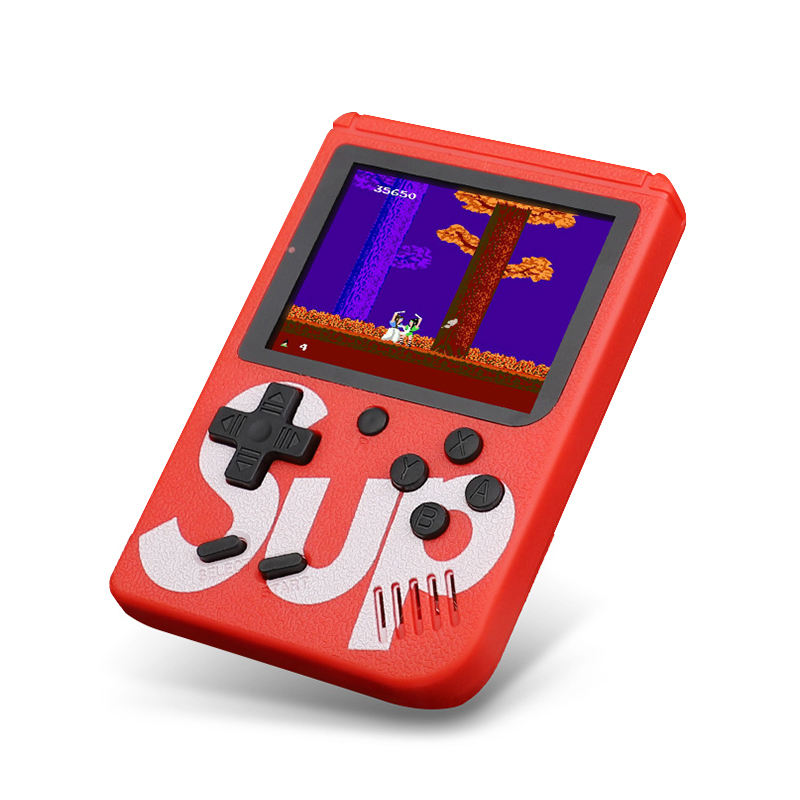 Video juegos de mano portatil dos retro 400in1sup x game sup game box 400 in 1 with 3'' screen mini consola retro sup