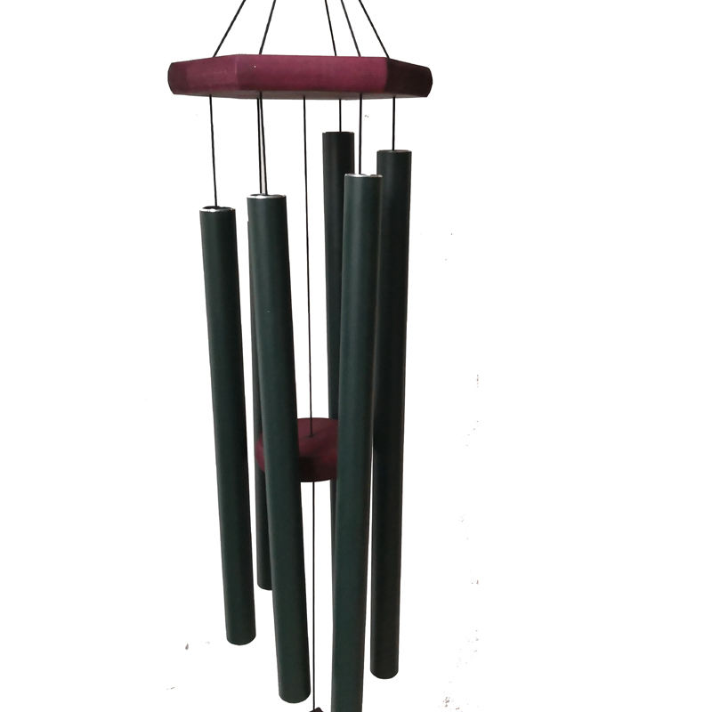 metal crafts outdoor garden ornaments large tuned deep tone musical melody wind chime bells 36