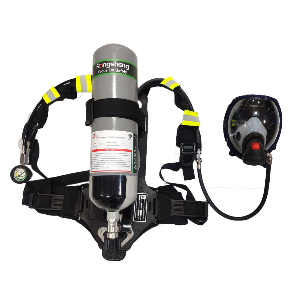 30-45mins 6L positive pressure apparatus SCBA for firefighter