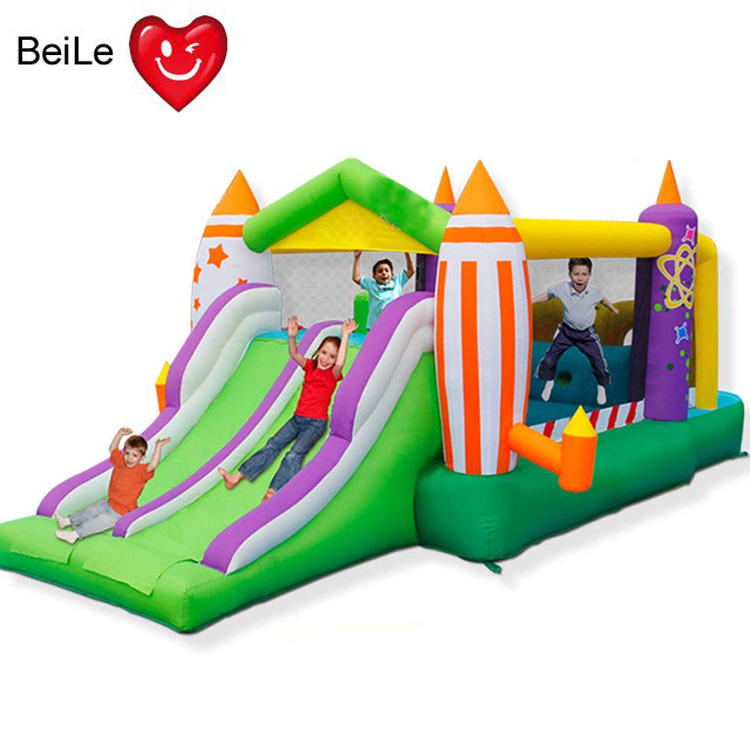 Supply Inflatable jumping castle Children's toy trampoline Slide