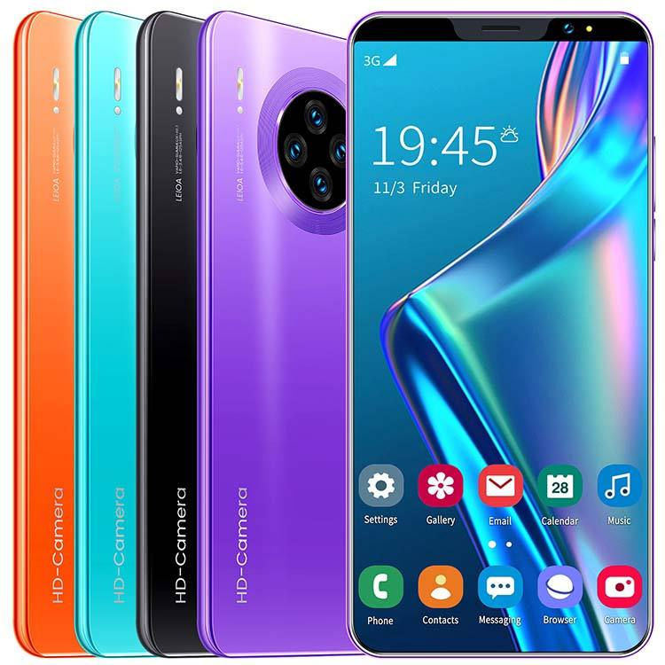 5.8 Inch Mate33 Pro 4+64gb Dual SIM Low Price Unlocked Cell Phones Smartphones Cheap Mobile Android 9.1 Smart Phones 4G