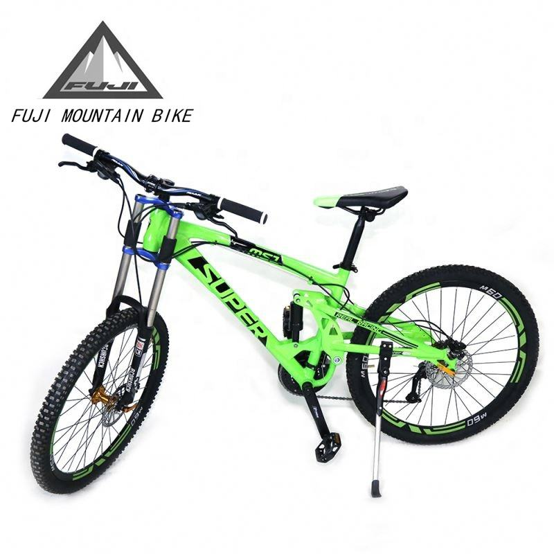 Full suspension mountain bike downhill berg/fahrrad