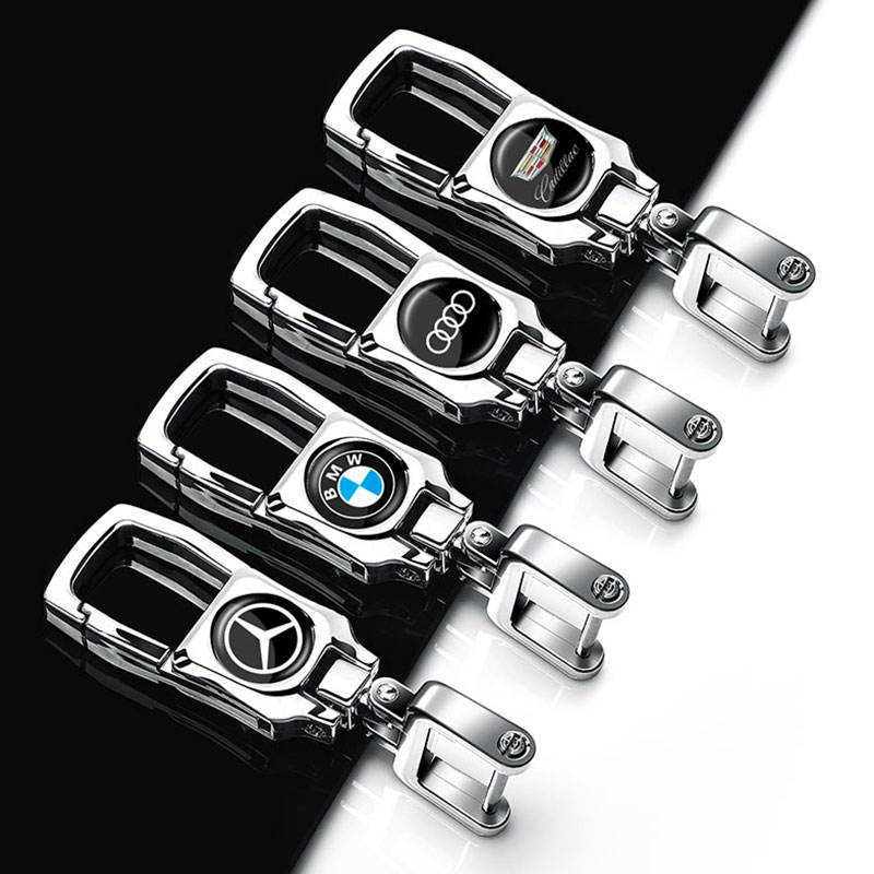 Car accessories The latest model of car key chain keychains Auto Accessories For BMW Audi Toyota Ford Suzuki Toyota Opel Renault