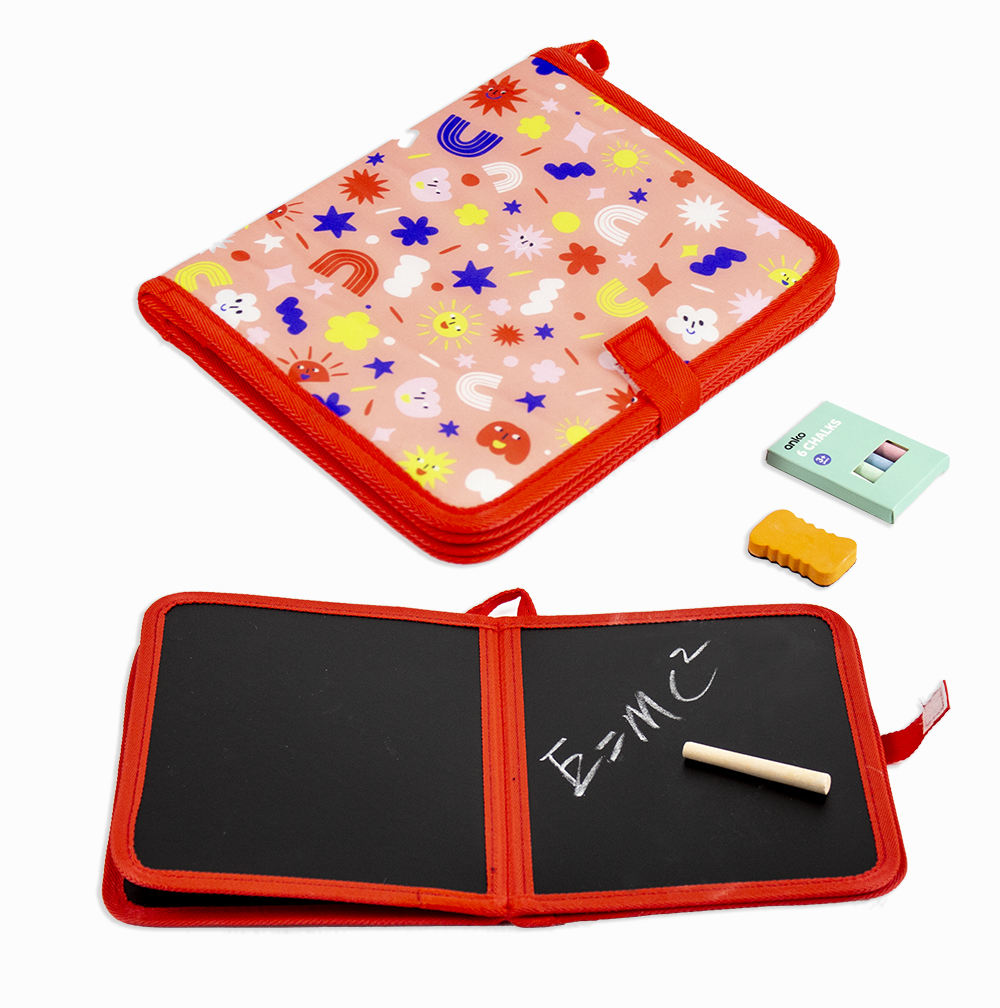 Hot selling erasable soft chalk drawing board dry erase activity book educational toys