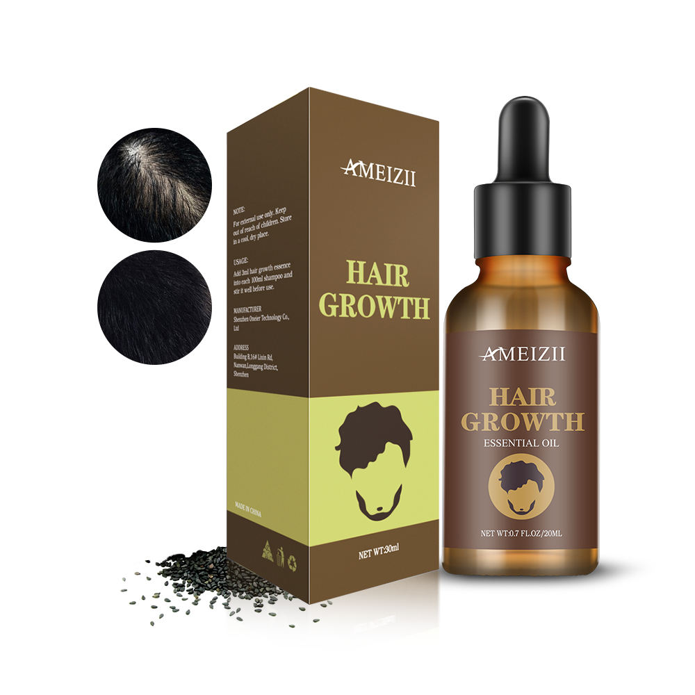 Hair Growth Oil Private Label Hair Regrowth Treatment Scalp Care Crecimiento Del Cabello Hairdressing Hair Drops Essential Oil