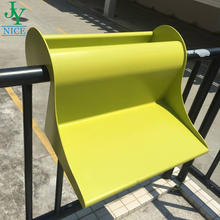 PP Plastic abs outside table common room railing Coffee desk Good Quality durable Hanging Balcony Table