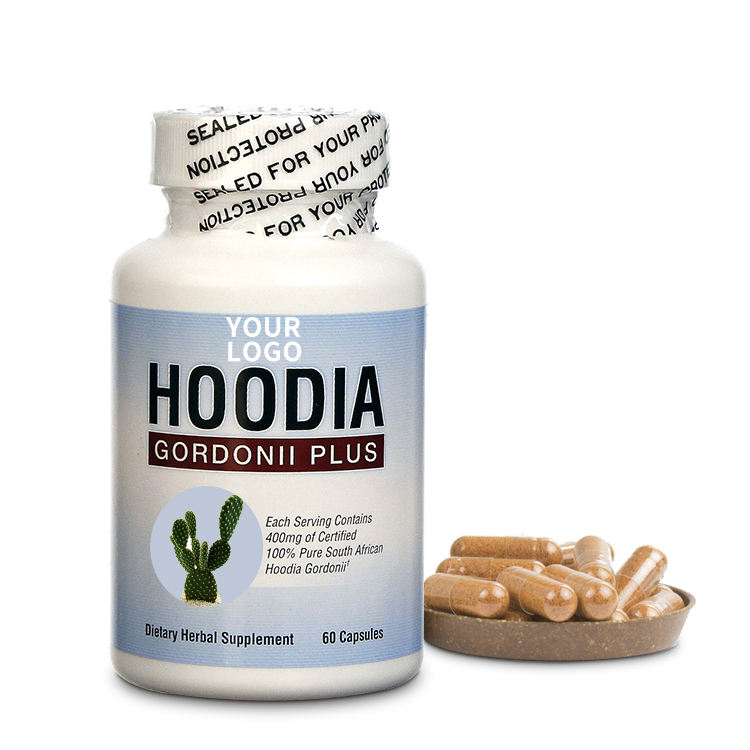 100% natural pure south african hoodia capsules