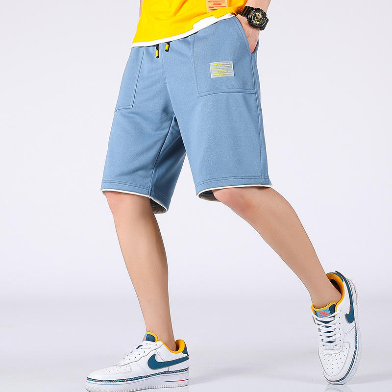 Free shipping 2020 summer super hot street wild five-point ins simple gym anime pants shorts