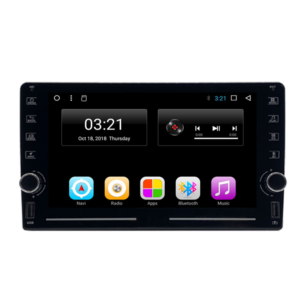 Universal touchscreen auto gps mit video eingang auto radio android auto stereo system gps