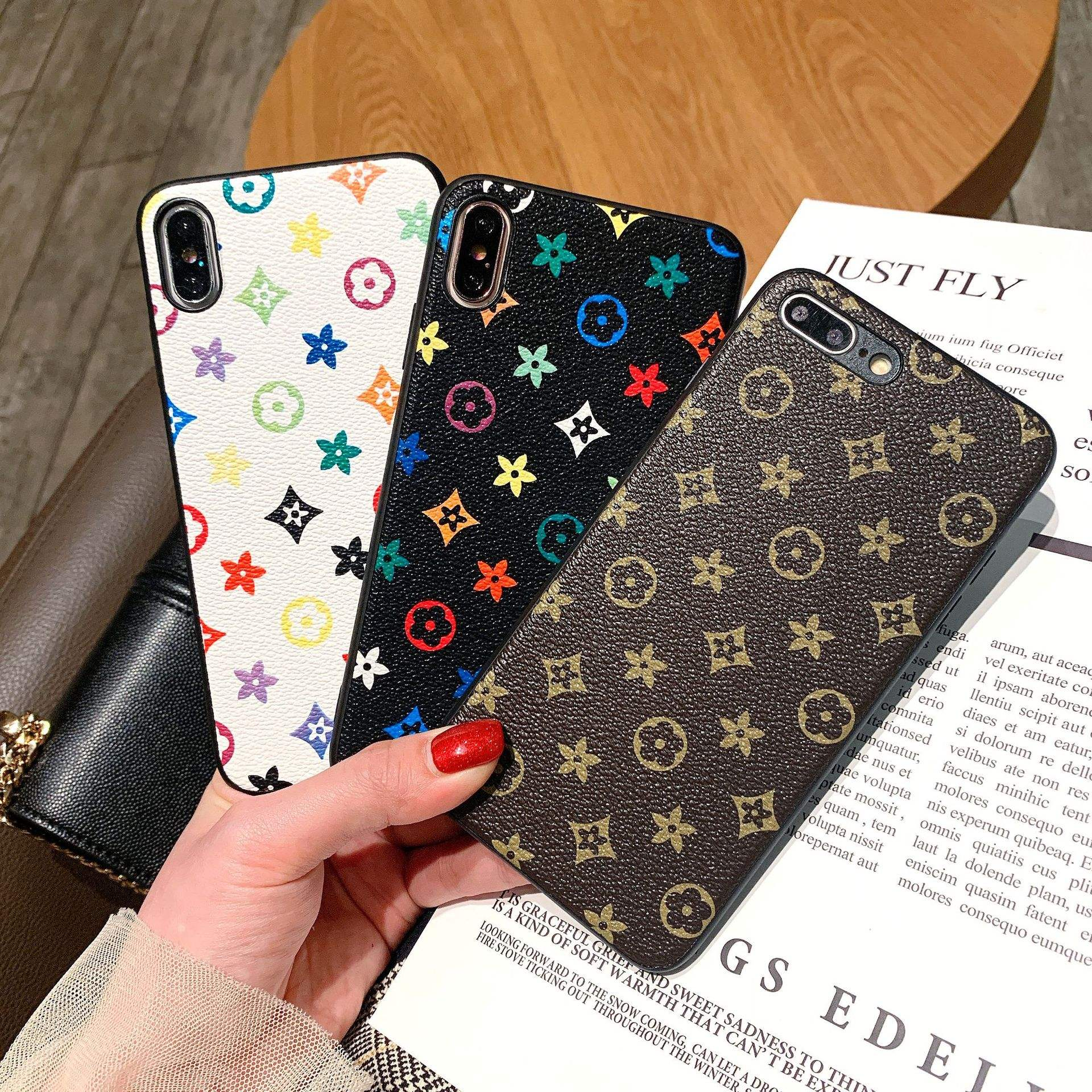 Wholesale Luxury Phone Case for iPhone XS Mobile Cell Phone Case Cover Fashion Design