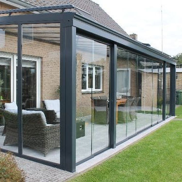 Designed garden house designs Glass plastic house sunroom for sale