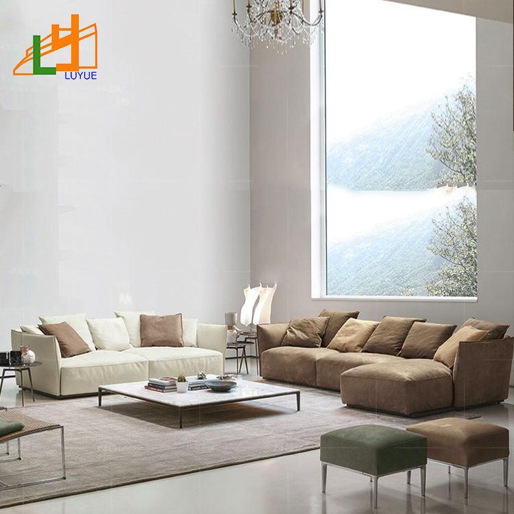 Estilo moderno diseños de tela sofá en forma de l tela elegante sofá para <span class=keywords><strong>casa</strong></span>