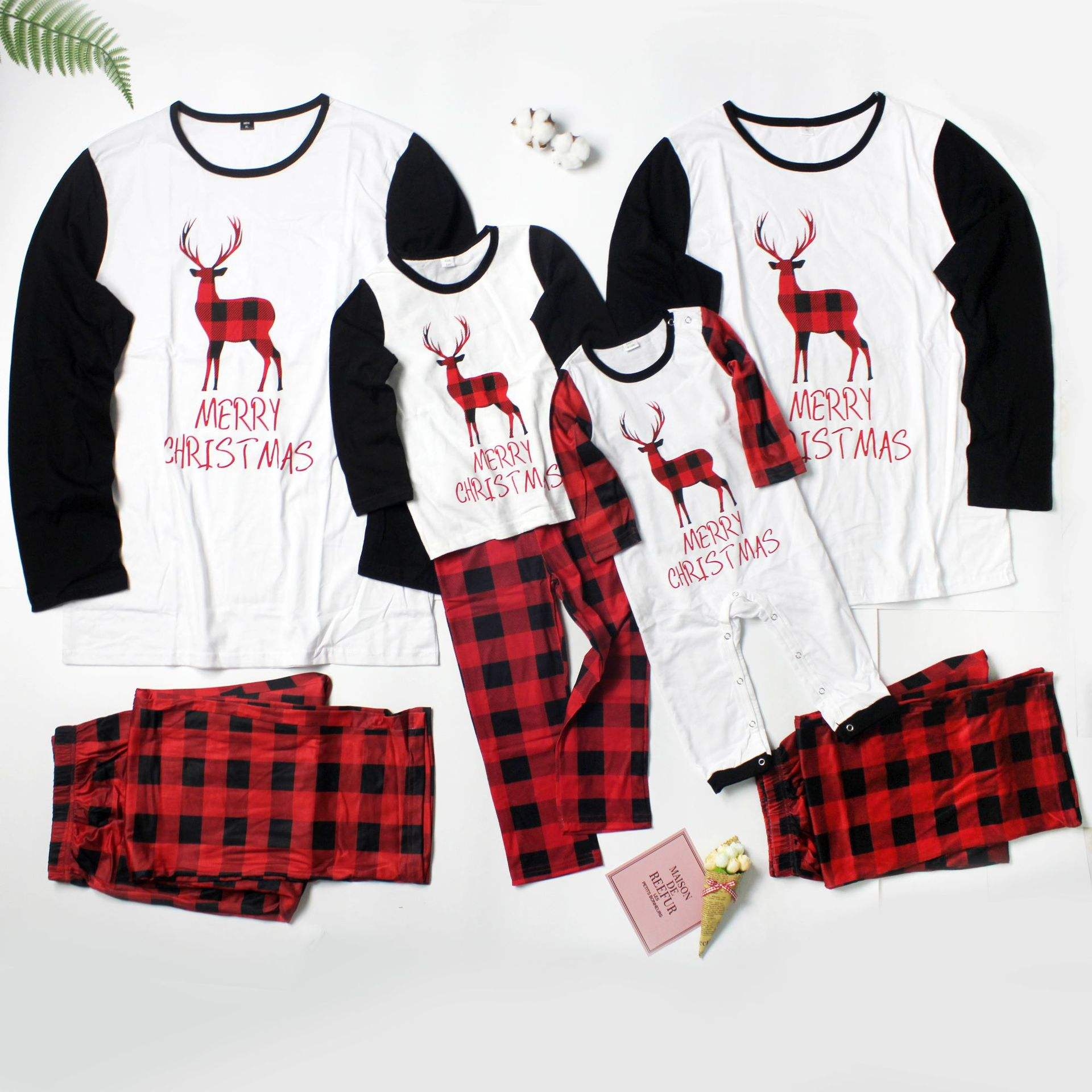 Sexy Plain Pajama Girls Set Women Super September Family Suits Fashion Whole Sales Flannel Matching Christmas Pajamas For Couple