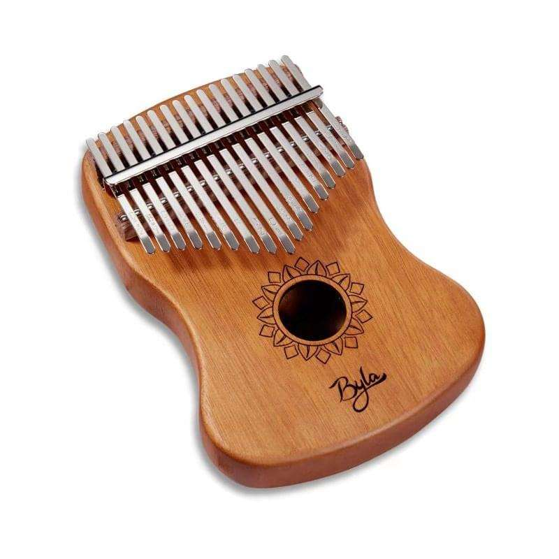 Byla tragbare Hand Box Trommel Percussion Musical Instrument mbira beste kalimba thhumb klavier tasche