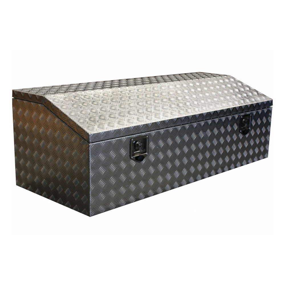 Aluminum Triangle Tool Chest Box For Pickup Truck Bed For Sale