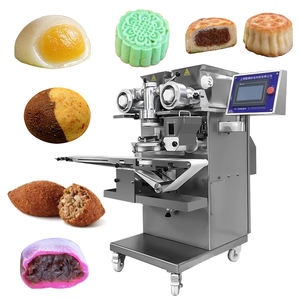Factory Supplier rheon encrusting machine for pineapple cake/kibbeh kubba maamoul etc