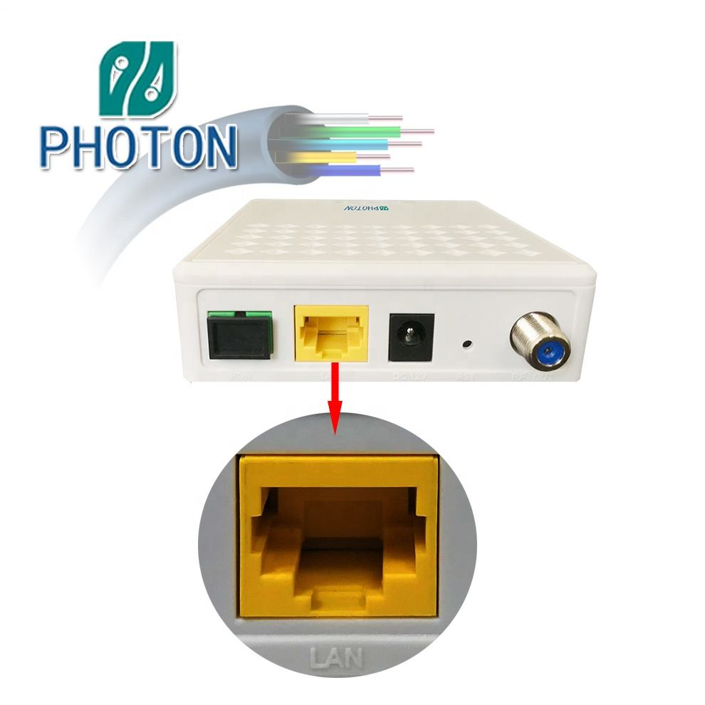 Fiber Optic Equipment 1GE+CATV GPON ONU WITH RF PTF2331