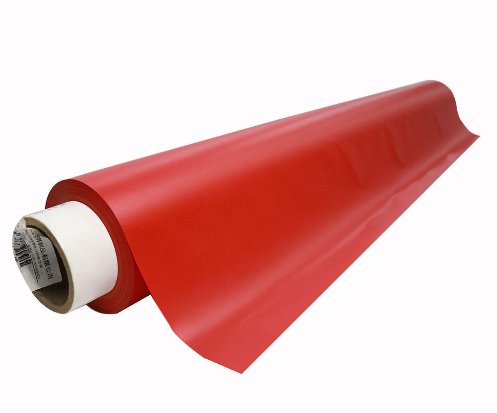 PVC Matte Color With Embossing Film For Printing Or Lettering