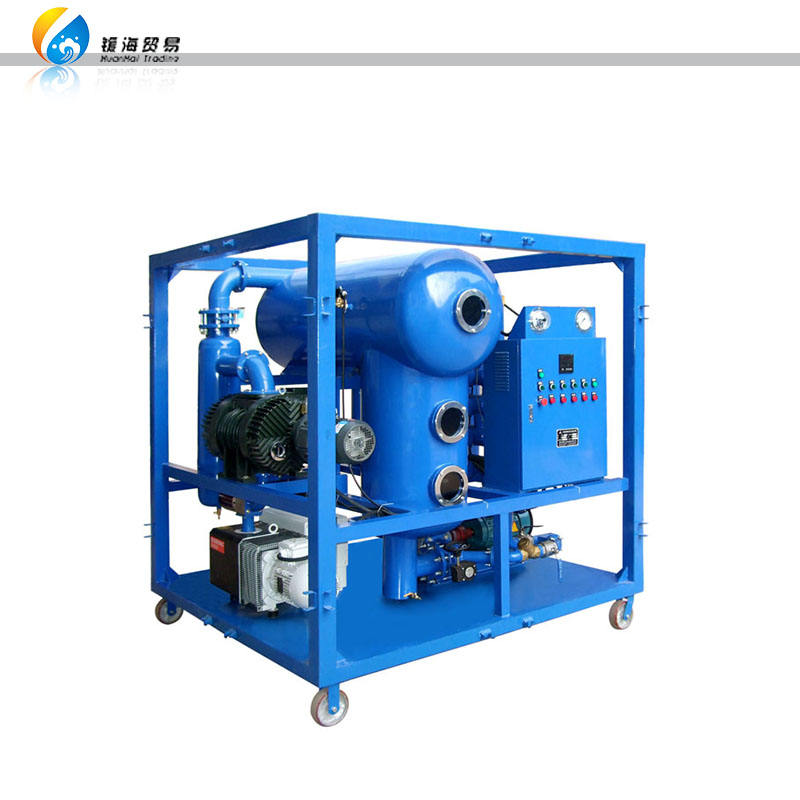Mobile Used Vacuum Dielectric Insulating Oil Filtering System/Transformer Oil Purifier Machine